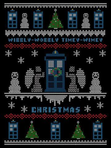 Wibbly-Wobbly Timey Wimey Christmas