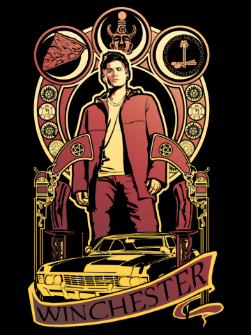 Winchester Poster - Supernatural