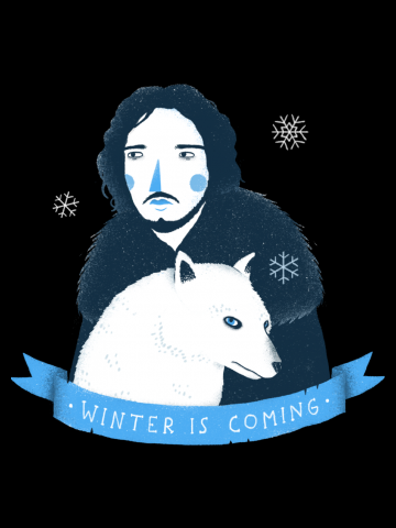 Winter is Coming Drawing - Game of Thrones