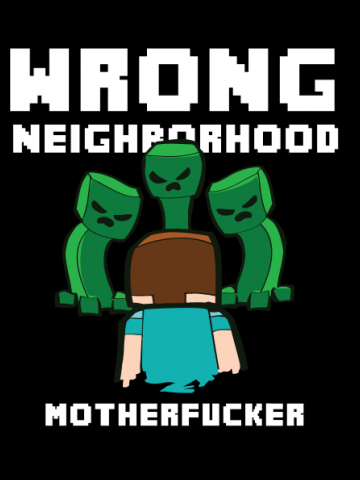 Wrong neighborhood - Minecraft