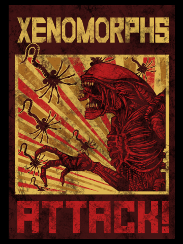 Xenomorphs Attack!