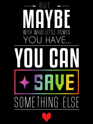 You can SAVE something else...