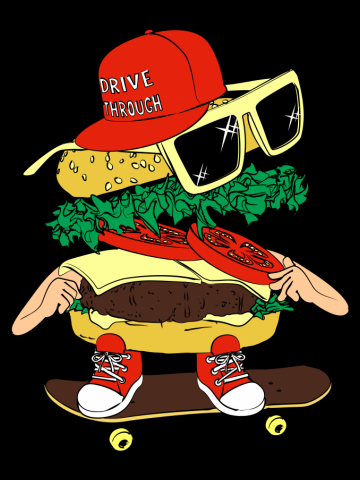 Burger sk8ter