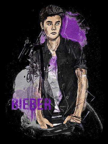 Justin Bieber - Artistic Portrait