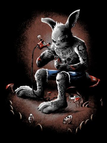 Rad easter bunny