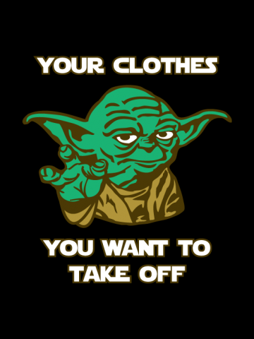 Pervert Yoda - Star Wars