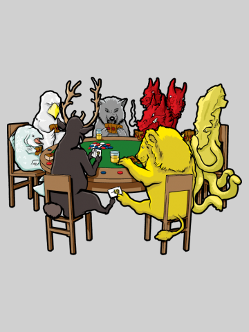 A game of Poker - Game of Thrones