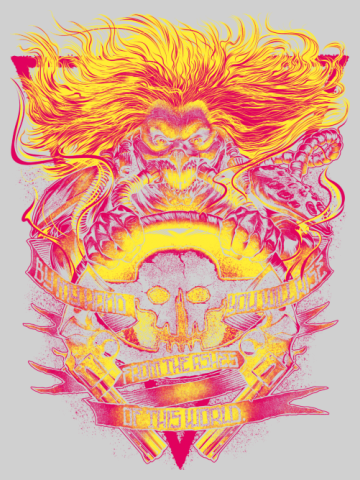 Artistic Fury Road - Mad Max