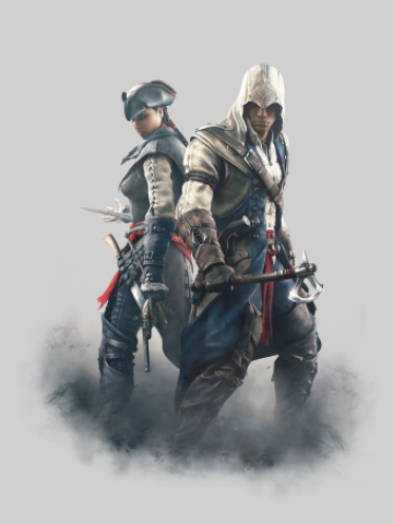 Aveline & Connor - Assasins Creed