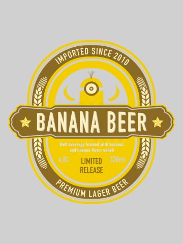 Banana beer - Minions