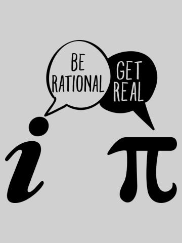 Be Rational Get Real Math Pun