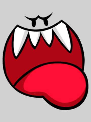 Boo face