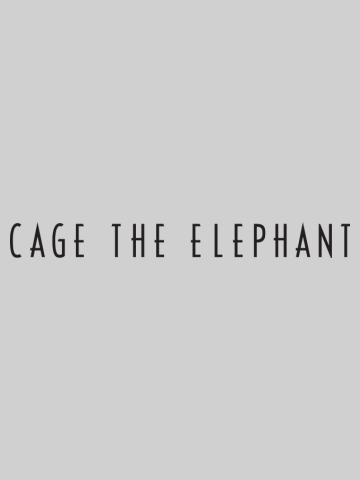 Cage the elephant - Logo