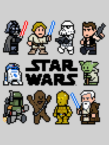 Classic Star Wars Pixels