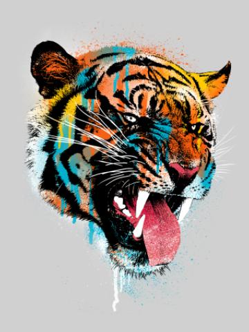 Colorfull tiger