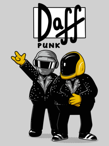 Daff Punk - The Simpsons
