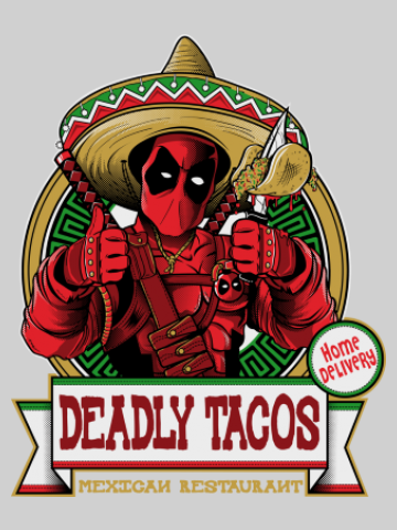 Deadly Tacos - Deadpool