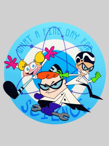 Dexter Lab Poster