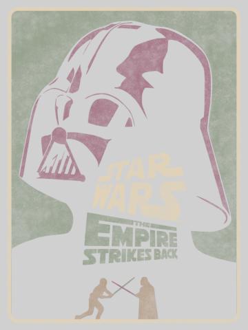 Episode V Darth Vader Poster