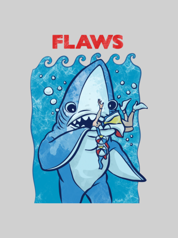 Flaws - Left Shark