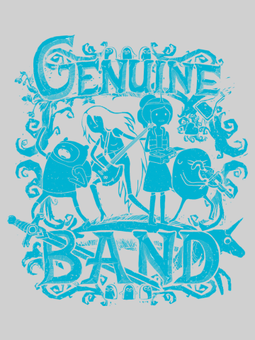 Genuine band - Adventure Time
