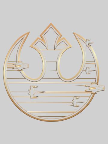Gold Rebel Alliance Logo