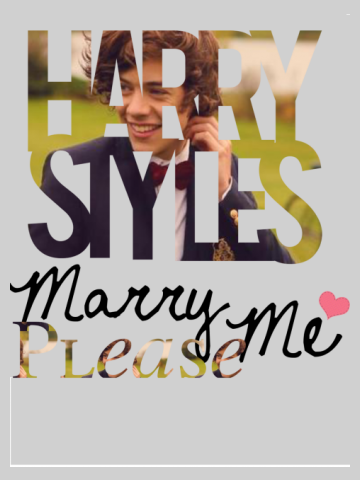 Harry Styles - Marry me