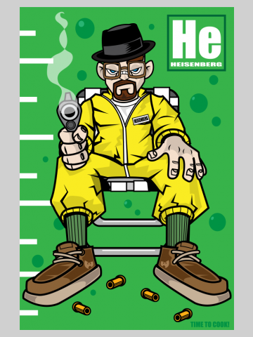 He - Time to  cook - Breaking Bad