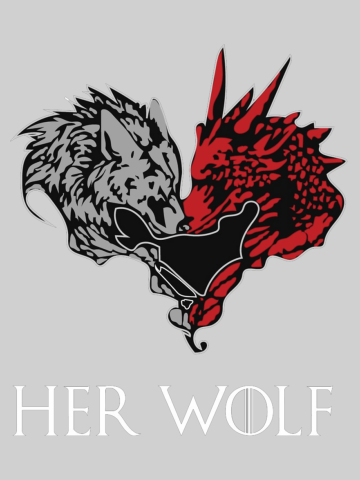 His Dragon & Her Wolf (him)