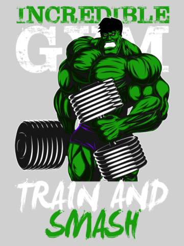 Hulk Gym - Train and Smash