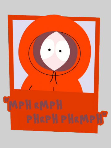 Kenny Quote - South Park
