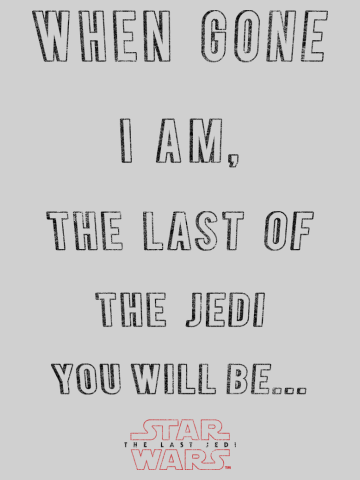 Last of the Jedi You Will Be