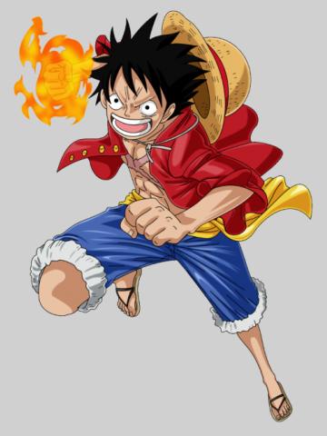 Luffy Fire Strike