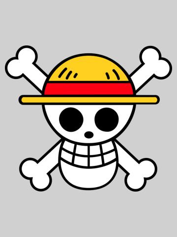 Luffy Flag Logo