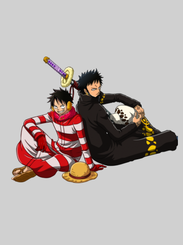 Luffy & law chill