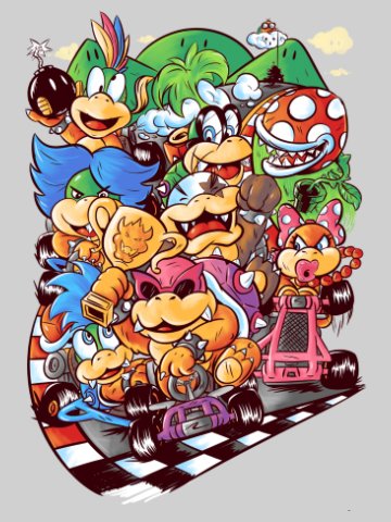 Mario Cart Empire