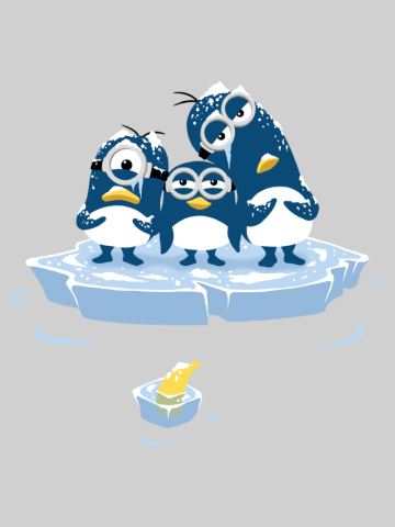 Minion penguins