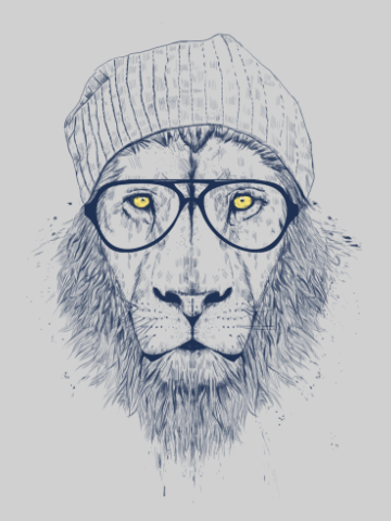 Mr hipsta lion