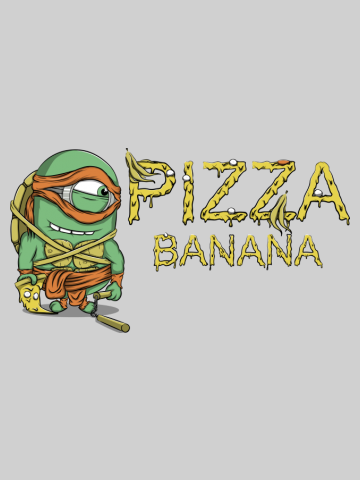 Mutant Minion Ninja - Pizza & Banana