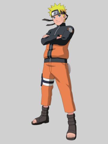 Naruto pose