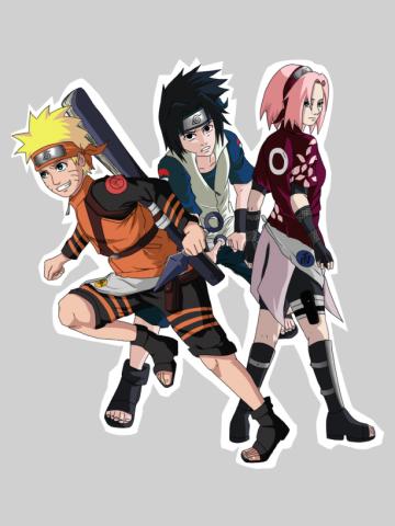 Naruto team seven tellemicus