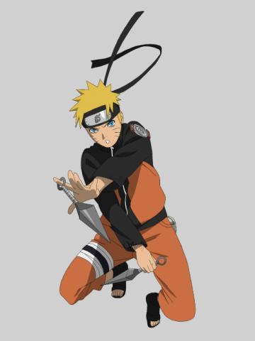 Naruto uzumaki lineart