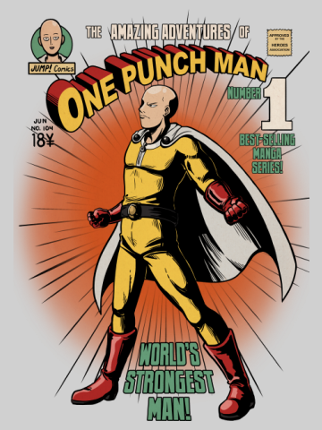 ONE PUNCH MAN - Poster