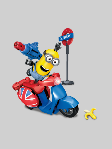 Scooter Atack - Minions