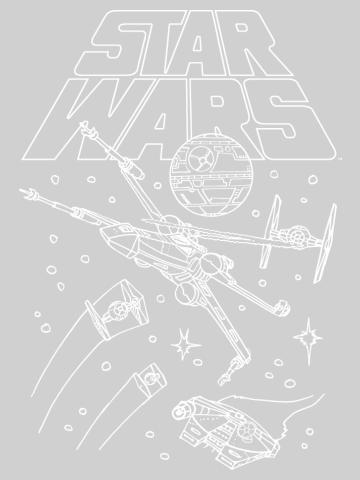 Star Wars Ship Outlines