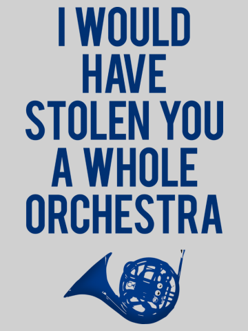 Stole whole orchestra - How I meet your mother