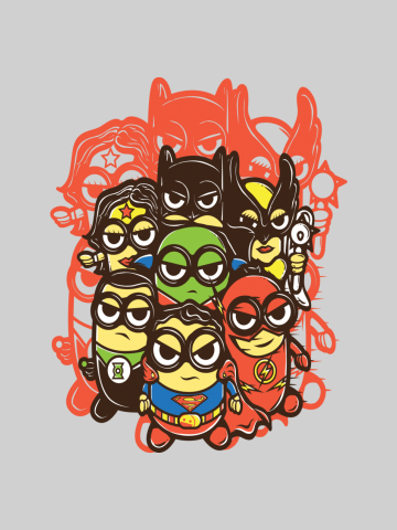 Superherows - Minions