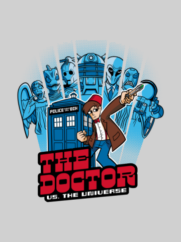 The Doctor vs the Universe - Doctor Who