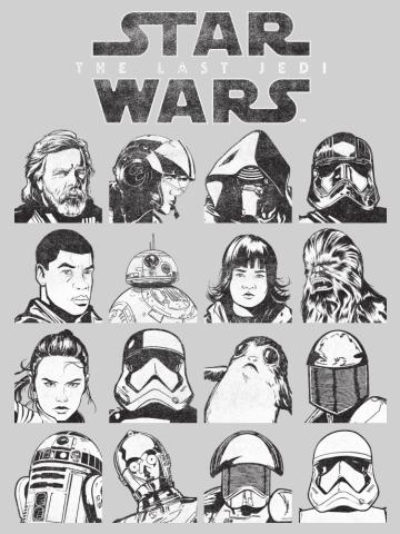 The Last Jedi Characters