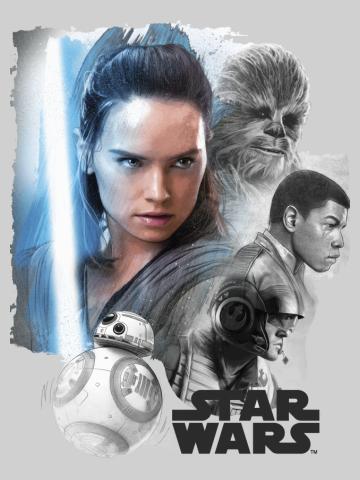 The Last Jedi Collage